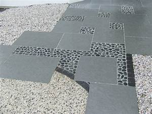 Béton Désactivé Gris : calade dallage et beton desactive gris blanc pr aud ~ Melissatoandfro.com Idées de Décoration