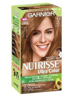 nourishing color creme hl warm caramel hair color