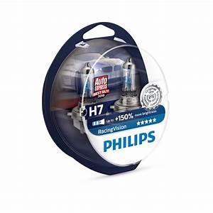 Philips Racing Vision H7 : philips racing vision 150 h7 halogen scheinwerferlampe ~ Jslefanu.com Haus und Dekorationen