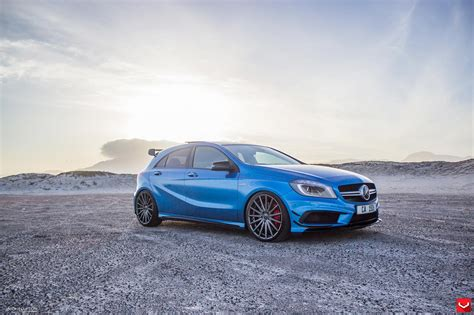 Why don't you let us know. Vossen WHEELS Mercedes A45 AMG blue tuning cars wallpaper | 1600x1066 | 664441 | WallpaperUP