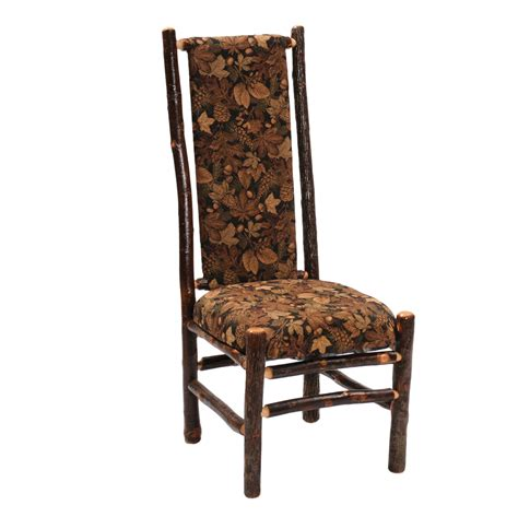high back upholstered side or arm chair