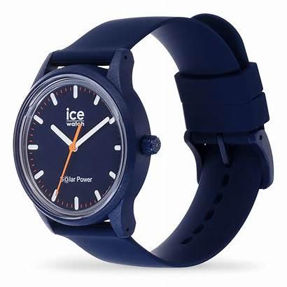 Ice Solar Power Atlantic Reloj Azul Montre