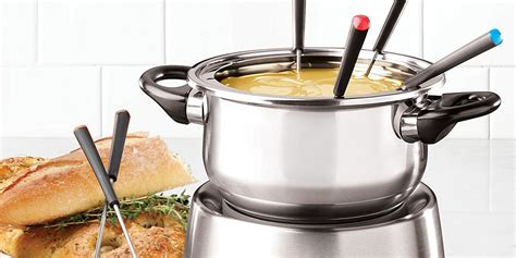 10 best fondue pots and sets for 2018 ceramic and electric fondue pots for entertaining