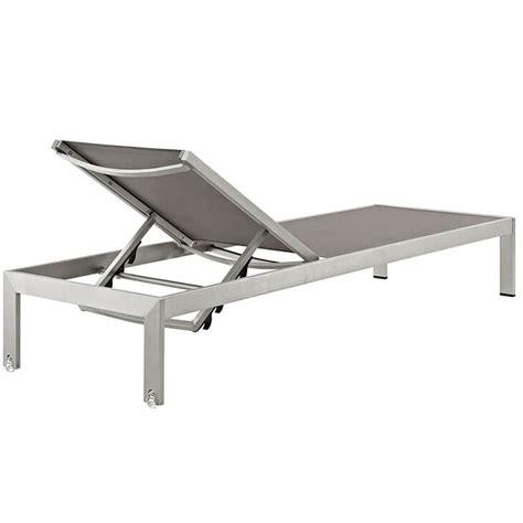 modern outdoor aluminum chaise lounge modern furniture