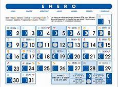 Calendario Lunar Enero de 2017