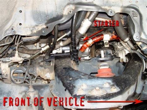1997 Toyotum 4runner Starter by Toyota 4runner 1996 2002 How To Replace Starter Yotatech