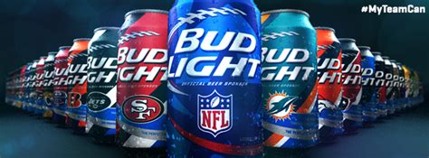 bud light football cans nfl and bud light team up for new cans crooked manners