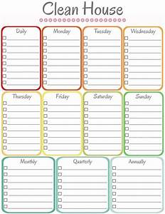 home management binder cleaning schedule cleaning With house chores checklist template