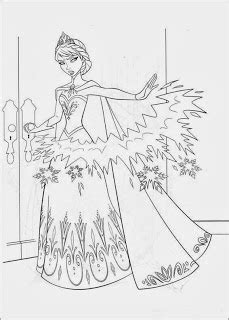 fun coloring pages frozen coloring pages