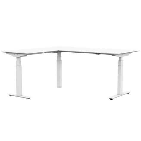 bureau 130 cm rol ergo professional zit sta bureau met hoekblad