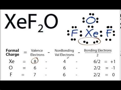 xefo lewis structure   draw  lewis structure
