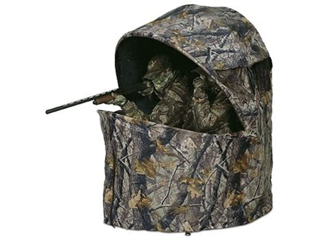 ameristep two deluxe chair ground blind 61 x 52 x 60