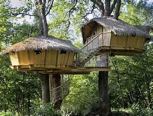 Cabane Dans Les Arbres Construction : glamping en france ~ Mglfilm.com Idées de Décoration