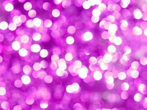 Abstract purple christmas lights as a background Stock