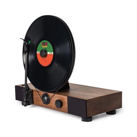 mobilier bureau maroc floating record platine vinyle verticale design gramovox kickstarter espritdesign 2
