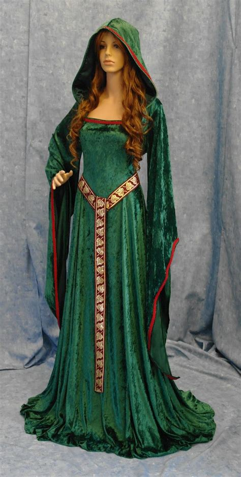 medieval renaissance elven fairy dress custom