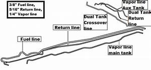 Need Fuel Line Diagram For Dual Tanks