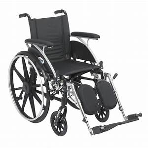 Viper Wheelchair With Flip Back Removable Arms  Full Arms