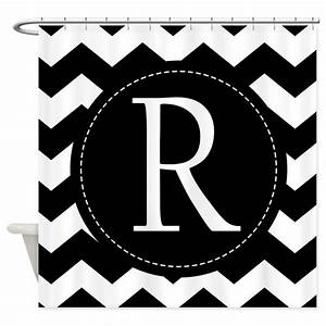 chevron monogram letter r shower curtain by With kitchen colors with white cabinets with monogram letter stickers