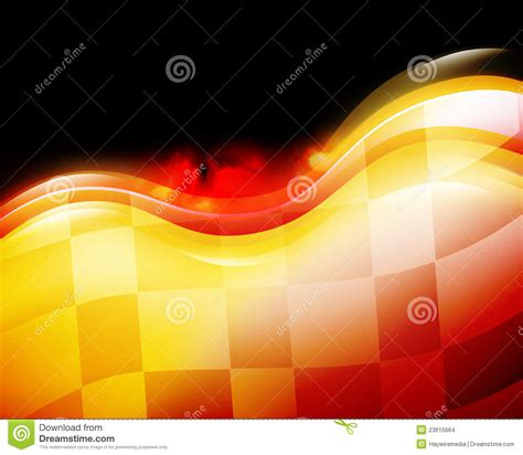 race car speed flames background stock illustration