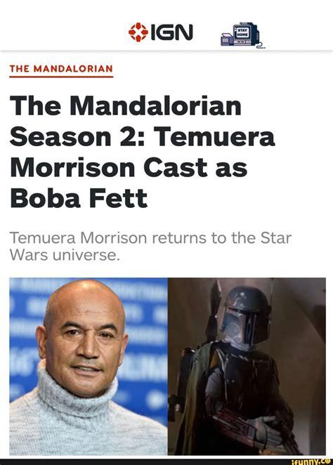 The Mandalorian Season 2: Temuera Morrison Cast as Temuera ...