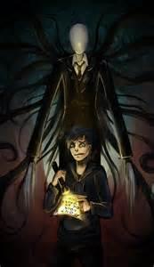 Slender Man and Little Boy