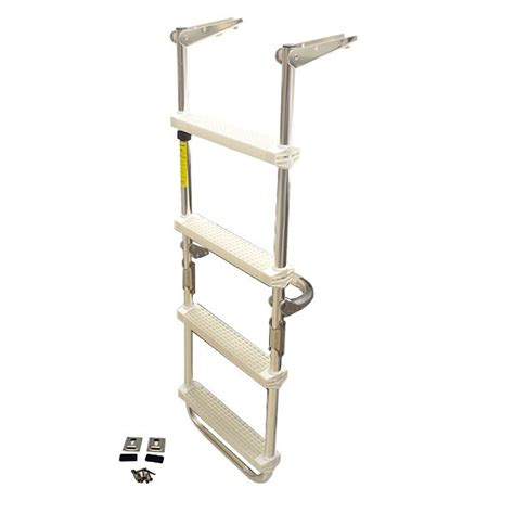 Boat Ladder Catches by Harbor 1326 Garelick 12150 Aluminum 43 1 2 Pontoon