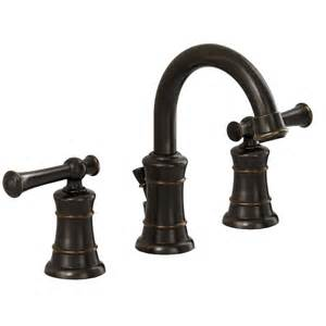 american standard emory estate bronze 2 handle widespread watersense bathroom sink faucet drain