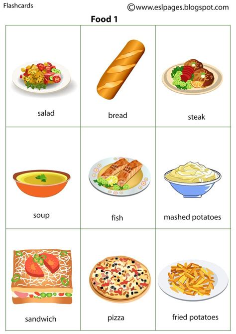 The 25+ Best Food Flashcards Ideas On Pinterest  Vocabulary In English, Learn To English And