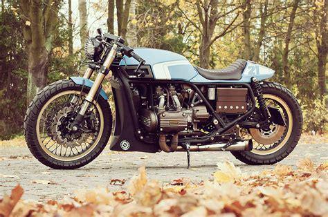 gold motorcycle cestus 75 honda gold wing cardsharper customs