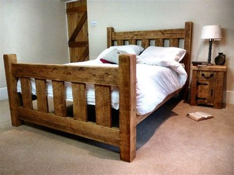 Cottage Style Rustic Bed...another Product From Ben