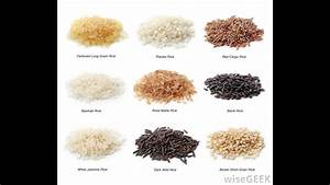 8 Varieties Of Rice    With Rich Benefits