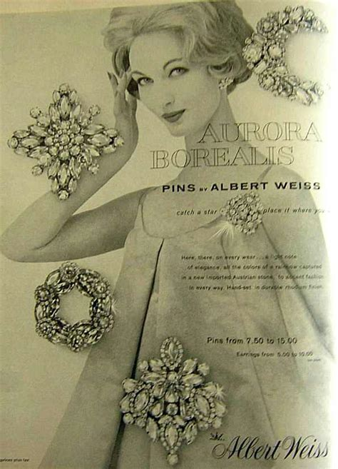 gallery  vintage costume jewelry ads