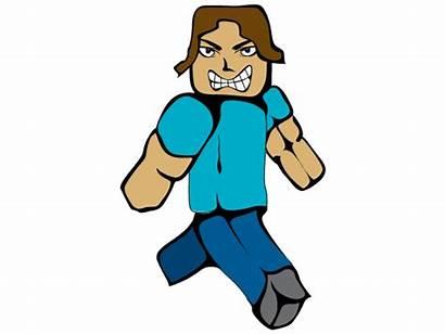 Minecraft Steve Clipart Mc Vector Characters Vectors
