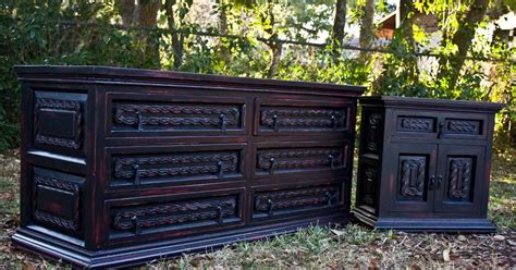 Black Dressers And Nightstands by Modernly Shabby Chic Furniture Black And Dresser And