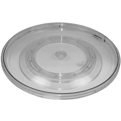 Clear Turntable  21 Inch In Lazy Susan Turntables