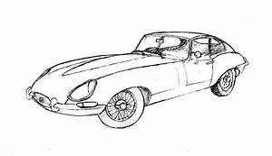car drawings in pencil collection for free download With jaguar s type black