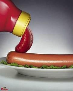 Ketchup And The Hot Dog