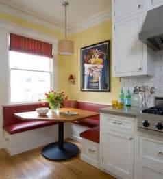 modern minimalist breakfast nook set with banquette plus