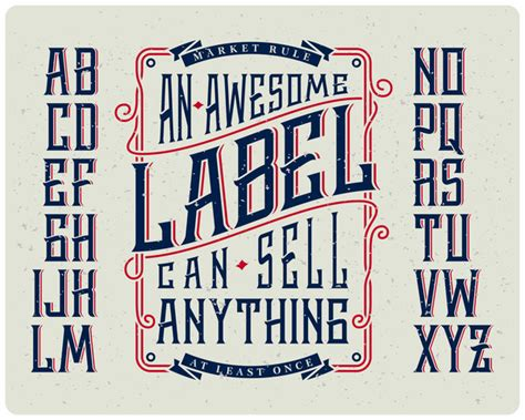 how to choose the right font for labels abbey labels