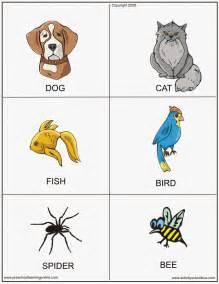 cards for printable animal flashcards printable