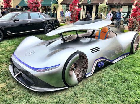 Mercedes-benz Eq Silver Arrow Show Car