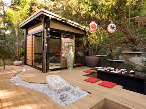 haves   asian inspired backyard  soothing blog