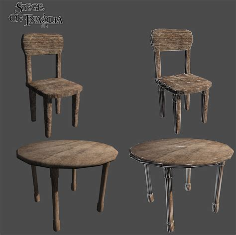 siege table renders screenshots a chair and table image siege of