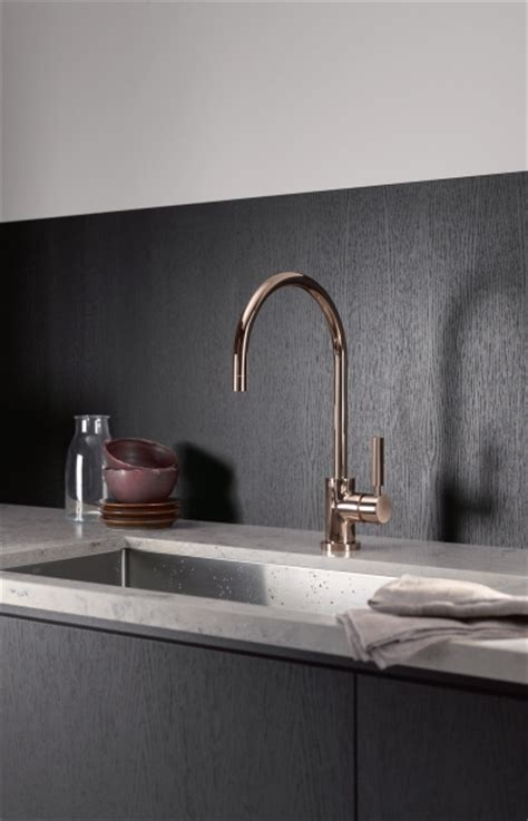 dornbracht s cyprum line of faucets made from 18 carat