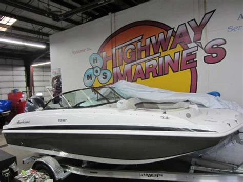 Hurricane Boats 187 Ob by Hurricane Sd 187 Ob Deck Boat Boats For Sale Boats