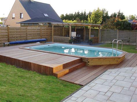 piscine hors sol gardipool rectoo manubricole exterieur piscine hors sol