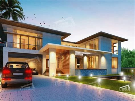 Tropical Beach House Tropical Modern House Plans, 2 Story