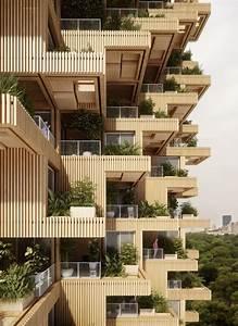 Penda, Designs, Modular, Timber, Tower, Inspired, By, Habitat, 67, For, Toronto