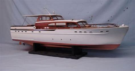 Model Boats Motor Yachts by Rc Model Boats Sterling Quot 63 Foot Chris Craft Quot Wood Model